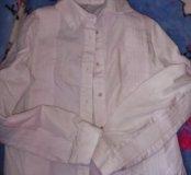 Блузки, рубашки в школу