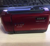 SONY HDR-CX360E red