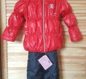 Новый зимний костюм 104-110
