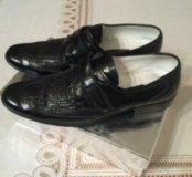 Туфли из крокодиловый кожи
