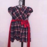 Платье на рос 112-118