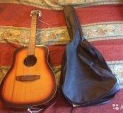Гитара ручной работы + чехол