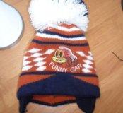 Детская шапка осень-зима