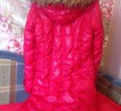 Куртка утеплённая длинная с мехом Reserved