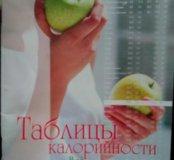 """Книга """"Таблица калорийности"""""""