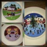 Villeroy boch Design naif салатные тарелки