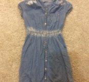 Джинсовое платье 42 рр