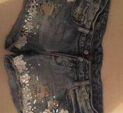 Шорты джинсовые на 42/44