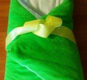 Зимний конверт плюс одеяло на выписку