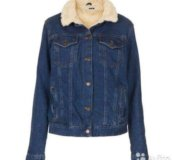 Куртка джинсовая тёплая