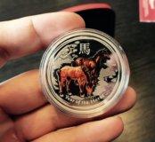 Серебряная монета Australian LUNAR