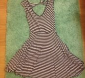 Летнее платье 42 размер