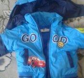 Курточка со штанами 400 комбенизон 500