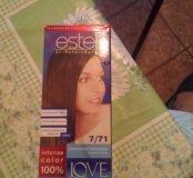 Краска для волос.коричневый перламутр.Estel.новая.