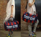 Продам модную спортивную сумку tommy hilfiger