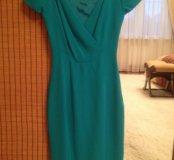 Платье бирюза фирмы Karen Millen