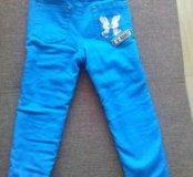 Утепленные штаны, размер 5-6 лет