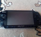 PSP 3008 нерабочая. Игровая приставка