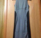 РАСПРОДАЖА Платье-599 и ковбой жилетка -399
