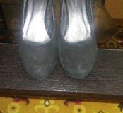 Туфли женские, замша, размер39