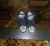 Детские ботинки,, Сникерсы размер 23