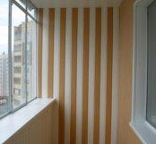 Отделка и ремонт лоджий и балконов.