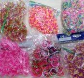 Резиночки для плетения браслетоа