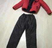 Куртка зимняя (пуховик) Adidas+штаны зимние Adidas