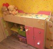 Детская кроватка, для девочки
