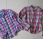 Рубашки хлопковый H&M и YD