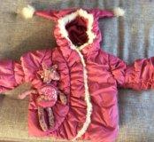 Куртка зимняя Orby для девочки