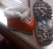 Ботиночки размер 40-41!теплые!!