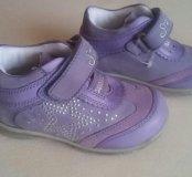 Новые осенние ботинки для девочки