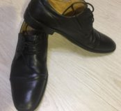 Ботинки кожаные Alberto Rocci