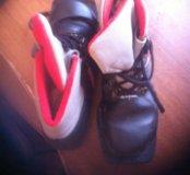 Ботинки лыжные  размер 34