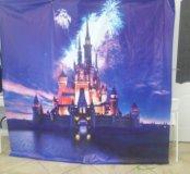 Баннер  замок Disney для фото зоны