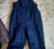 Тёплые штаны - комбенизон