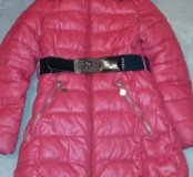 Зимнее пальто р-р 134-140