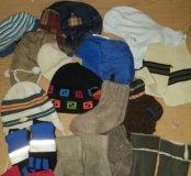 Шапки, перчатки, варежки, носочки, шарф