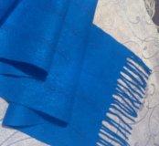 Валяный шарф, палантин
