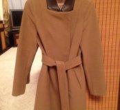Пальто женское демисезонное из облегченного драпа