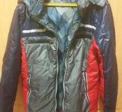 Осенняя двухсторонняя куртка