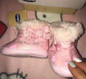 Chicco зимние ботиночки