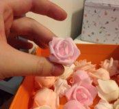 Цветы из фоамирана.Розы из фоамирана.