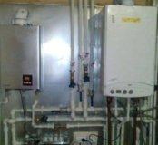 Сантехнические услуги,монтаж отопления, водоснабже