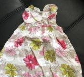 Платье Некст 6-9 мес