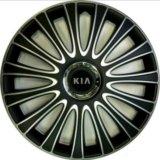 Колпаки черные р17 Киа / R17 Kia