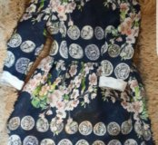 Брендовое платье трикотажное