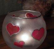 Подсвечник\ваза Романтика