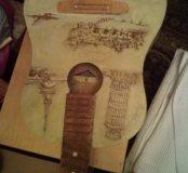Гитары с ручным декором.